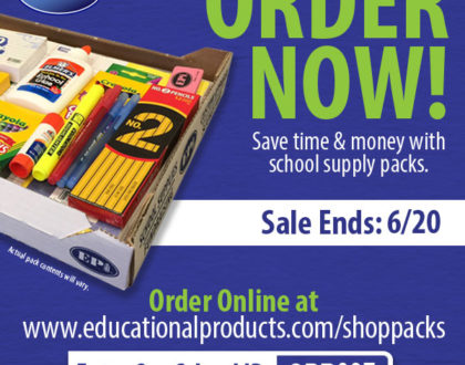 Order Your School Supplies Pack